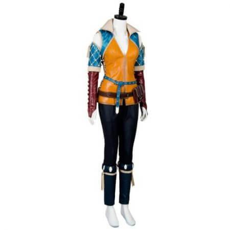 High Quality Triss Merigold Cosplay Costume Adult Women Custom Made 4