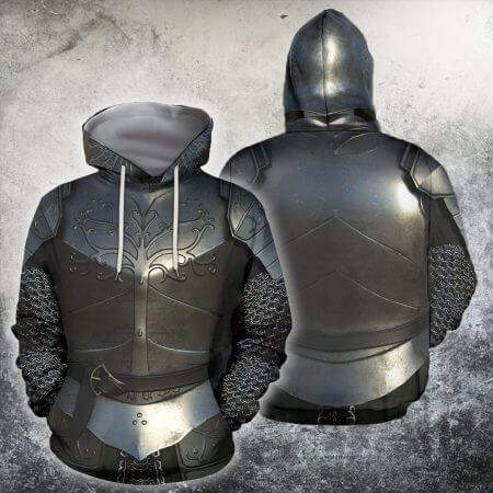 3D All Over Printed Knights Templar Tops Streetwear Hoodie Long Sleeve Pullover Custom Hoodie 2019 Hot Sale Drop Shipping 1