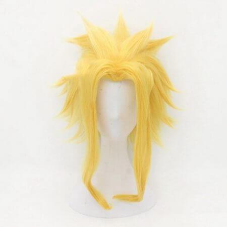 Anime My Hero Academia All Might Cosplay Costume Wig 5