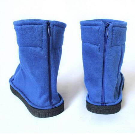 Naruto Cosplay Shoes Akatsuki Nanja Uzumaki Naruto Sakura Sasuke Black Blue Cotton Soft Sandals Ninja Boots Kakashi Shoes 2