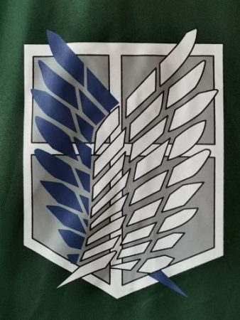 SALE Attack on Titan Cloak Shingeki no Kyojin Scouting Legion Cosplay Costume anime cosplay green Cape mens clothes 3