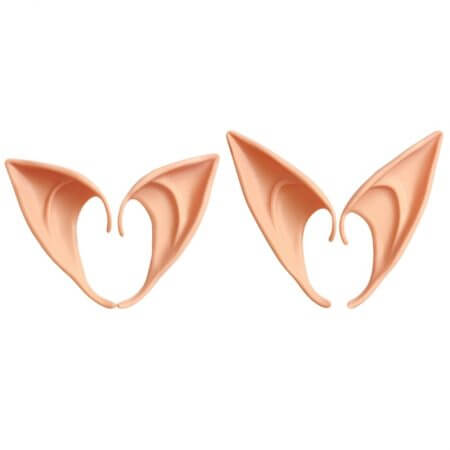 1-3 Pairs Latex Elf Ears Pointed Cosplay Mask Accessories Halloween Masquerade Party Anime Fairy Costumes Deep Color W15
