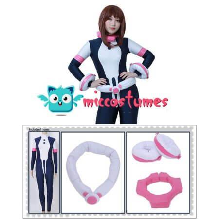 My Hero Academia Ochako Uraraka Cosplay Jumpsuit Costume 2