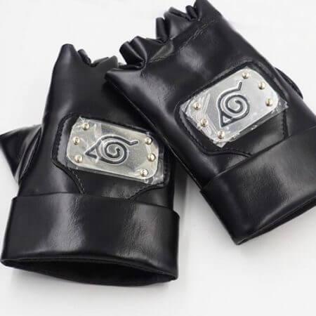 Naruto Uzumaki Naruto Uchiha Sasuke Glove Prop Cosplay Anime Shuriken Weapons Accessories Glove 1