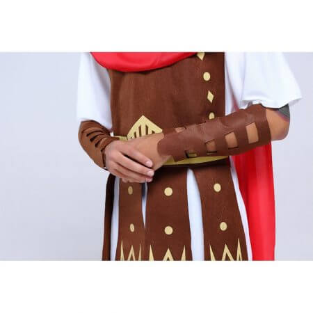 Umorden Halloween Purim Adult Ancient Roman Greek Warrior Gladiator Costume Knight Julius Caesar Costumes for Men Women Couple 2