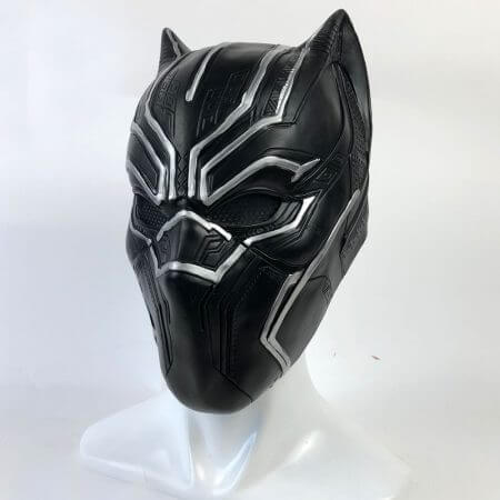 Black Panther Masks Captain America Civil War Roles Cosplay Latex Mask Helmet Halloween Realistic Adult Party Props In Stock 3