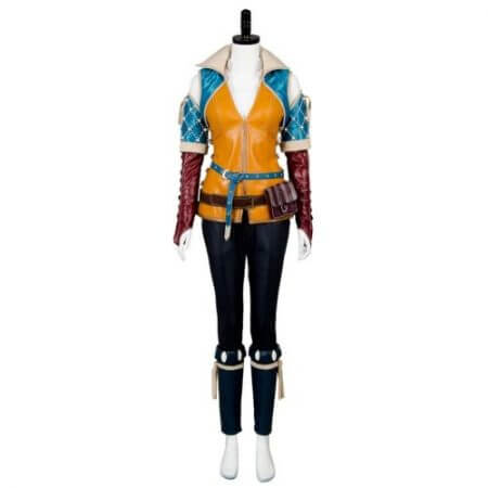 High Quality Triss Merigold Cosplay Costume Adult Women Custom Made 1