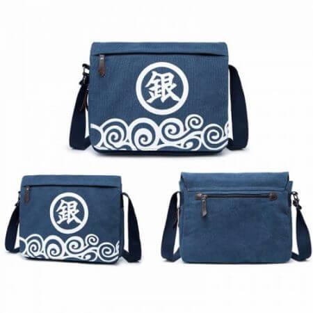 Canvas Bag Anime Sword Art Online Totoro Attack on Titan Naruto ONE PIECE Black Butler GINTAMA Shoulder Messenger Bag School Bag 5