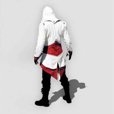 assassins creed cosplay Adult Men Women Streetwear Hooded Jacket Coats Outwear Costume Edward assassins creed Halloween Costume 1