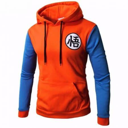 Anime Dragon Ball Hoodie Cosplay 3D Super Saiyan Dragonball Z Dbz Son Goku Pocket Hooded Sweatshirts Hoodies T-shirt Men Women 1