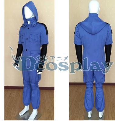 Assassination Classroom Shiota Nagisa Blue Cosplay Costume 1