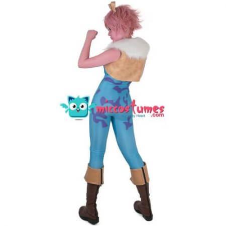 My Hero Academia Mina Ashido Cosplay Costume Jumpsuit Vest 3