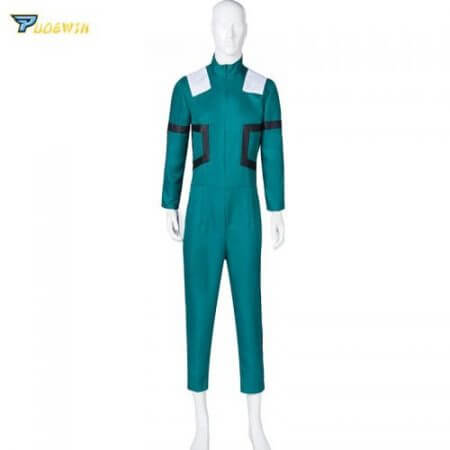 Anime My Hero Academia Cosplay Costume Izuku Midoriya Cosplay Costume Boku No Hero Academia Deku Combats Uniform Halloween Party 3