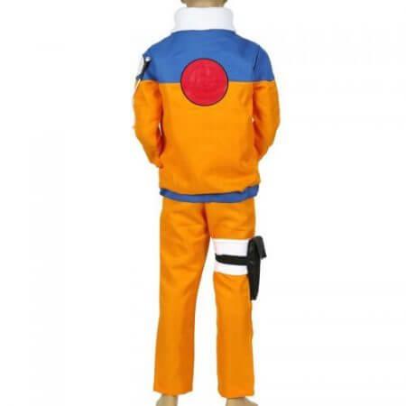 Calssic Anime Cosplay   Naruto children Cosplay Costumes juvenile Uzumaki Naruto kids  European size Free Shipping 1