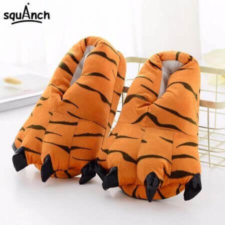Unicorn Slippers Cartoon Animal Claw Kigurumi Tiger 3