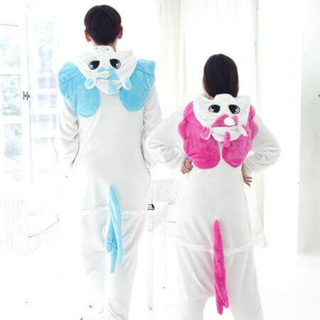 Women Men Kigurumi Unicorn Pajamas cat 3