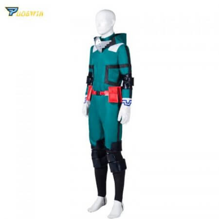 Anime My Hero Academia Cosplay Costume Izuku Midoriya Cosplay Costume Boku No Hero Academia Deku Combats Uniform Halloween Party 1