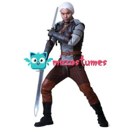 Wild Hunt Geralt of Rivia Cosplay Costume 1