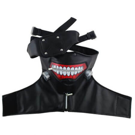 Japanese Anime Tokyo Ghoul Cosplay Costumes Kaneki Ken Cosplay Costumes Hoodie Jackets Black Fight Uniform Full Set With Mask 3