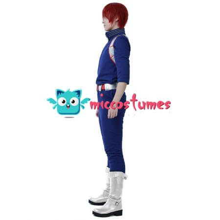 My Hero Academia Shoto Todoroki Cosplay Costume Uniform 3