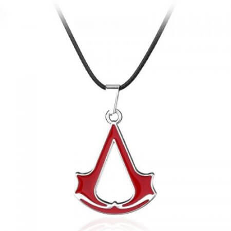 Assassins Creed Ezio Titanium Necklace Multicolor Stainless Steel Pendant Necklace 5