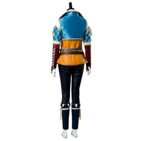 High Quality Triss Merigold Cosplay Costume Adult Women Custom Made 5