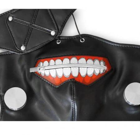 Anime Tokyo Ghoul Kaneki Ken Cosplay Costumes Mask Halloween Party Masks 5