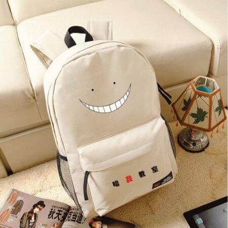 Korosensei Women Cute Backpack Anime Bookbag Assassination Classroom School Bags for Teenagers Girls Anime Travel Bagpack Rugzak 2