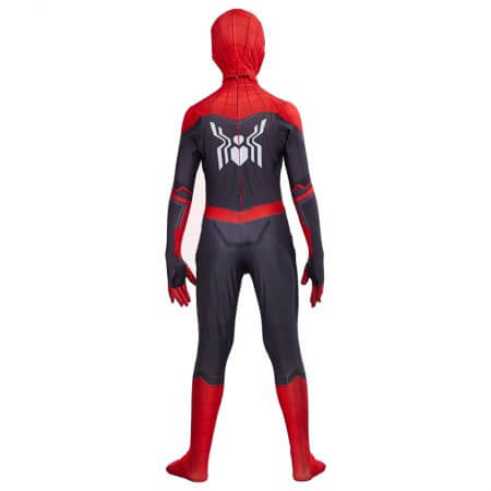 Kids Spider Man Far From Home Peter Parker Cosplay Costume Zentai Spiderman Superhero Bodysuit Suit Jumpsuits Halloween Costume 4
