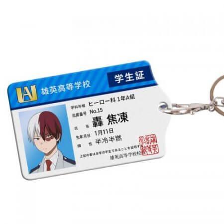 Anime My Hero Academia Boku no Hero Asui Tsuyu OCHACO URARAKA Acrylic Cards Holder Keychain Bag's Pendant Cosplay Xmas Gifts 3