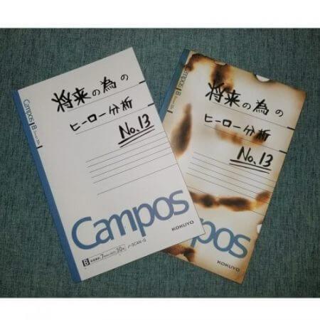 My Hero Academia Midoriya Izuku Burned Notebook Anime Cosplay Accessory Book Props School Student Note Book Gift 4