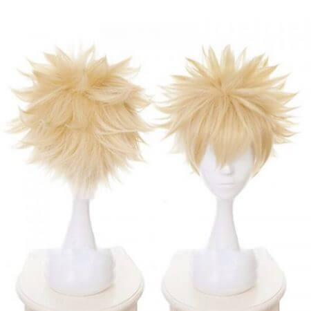 Anime My Hero Academia All Might Cosplay Costume Wig 4