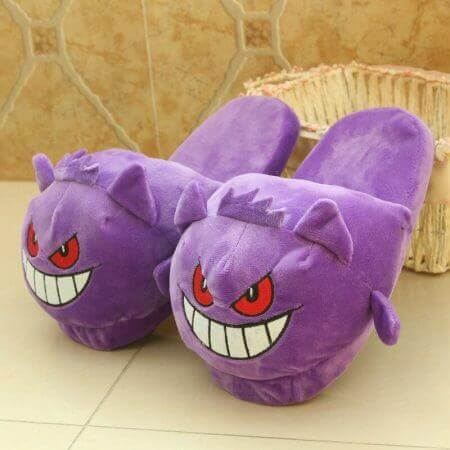 Winter lovely Home Slippers Cartoon Pokemon Warm Shoes Women Cosplay Unisex Cartoon Cotton slippers shoes 5