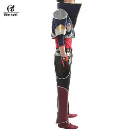 ROLECOS Battle Academia Ezreal Cosplay Costume LOL Ezreal Cosplay EZ Game Costume The Prodigal Explorer Men Halloween Costume 1