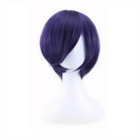 Tokyo Ghoul Touka Kirishima Wig Cosplay Costume Kirishima Toka Women Short Synthetic Hair Halloween + Wig Cap