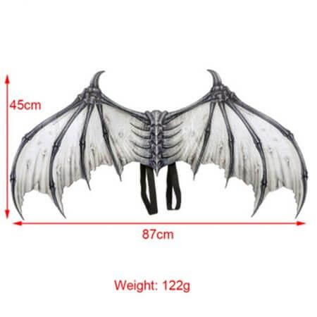 Cosplay adult children halloween carnival purim costume prop demon wings mask dragon bat wings for performance props J6 5