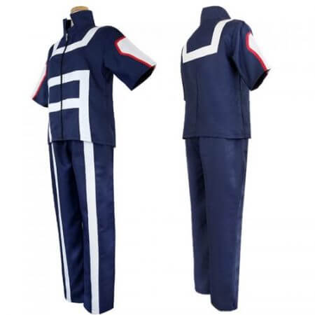 My Hero Academia Boku no Hero Academia Cosplay Gym Sport Costume Suit Uniform 2