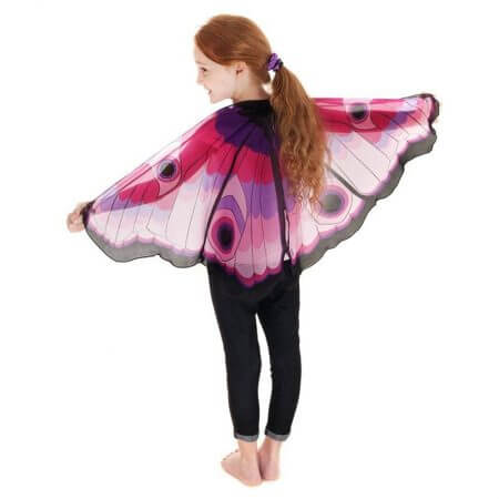 Fairy tale princess cosplay costume Butterfly Wings Shawl Cape Stole Kids Boys Girls Scarf Wrap accessories 4