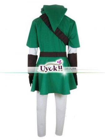 Hot The Legend of Zelda Link Cosplay Costume Full Set Comic Link Cosplay green Outfits Full set 2