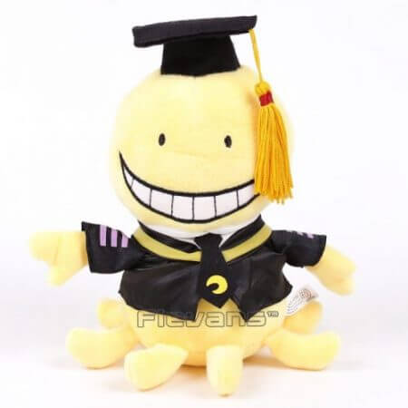 Anime Cartoon Assassination Classroom Korosensei Plush Toy Soft Stuffed Doll 19cm/29cm