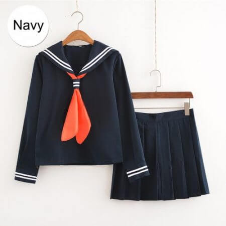 My Hero Academia Cosplay Costume Anime Cosplay Boku no Hero Academia Himiko Toga JK Uniform Women Sailor Suits with Sweaters 2