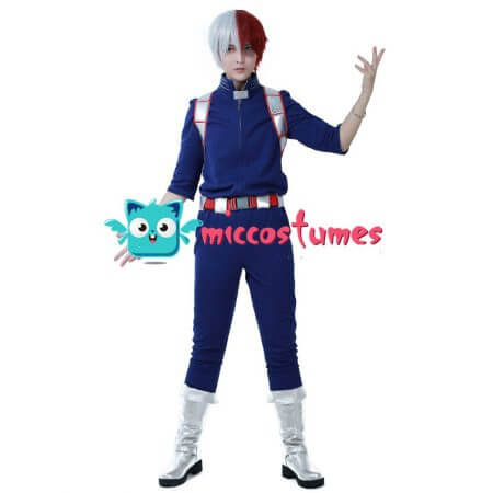 My Hero Academia Shoto Todoroki Cosplay Costume Uniform 1