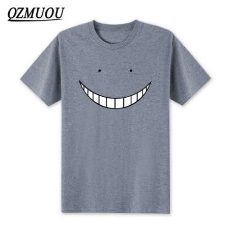 2019 New Anime Assassination Classroom T Shirts Men Korosensei T Shirt Cotton Short Sleeve Men Cartoon Cosplay Tops Tees XS-XXL 3