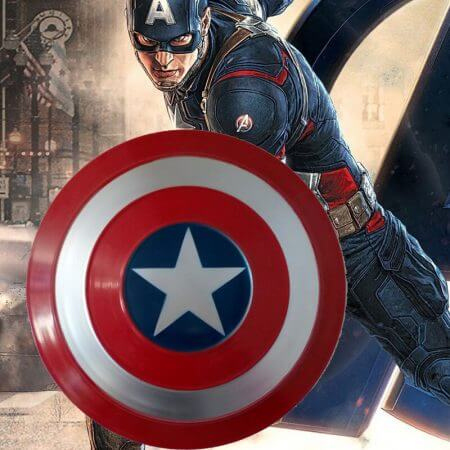 Avengers Endgame Captain America Shield Steve Rogers Cosplay Prop superhero Metal Shield props Halloween Party 1