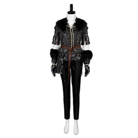 Yennefer Cosplay Costume Outfit Dress Suit Uniform 1