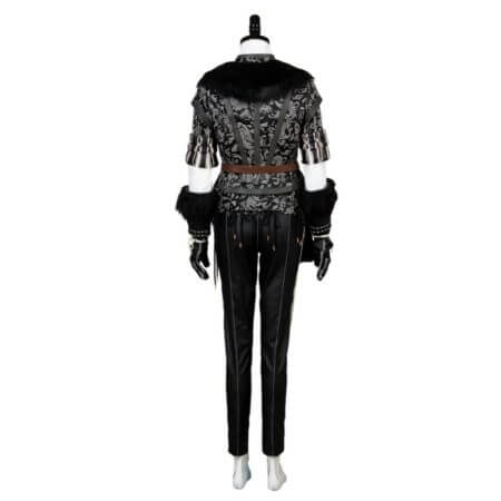 Yennefer Cosplay Costume Outfit Dress Suit Uniform 3