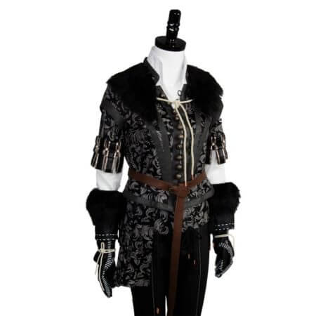 Yennefer Cosplay Costume Outfit Dress Suit Uniform 5