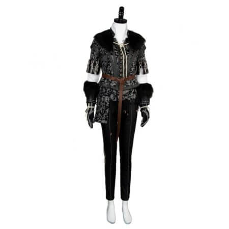 Yennefer Cosplay Costume Outfit Dress Suit Uniform 2