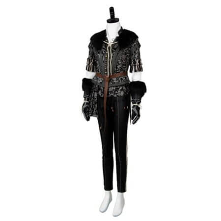 Yennefer Cosplay Costume Outfit Dress Suit Uniform 4