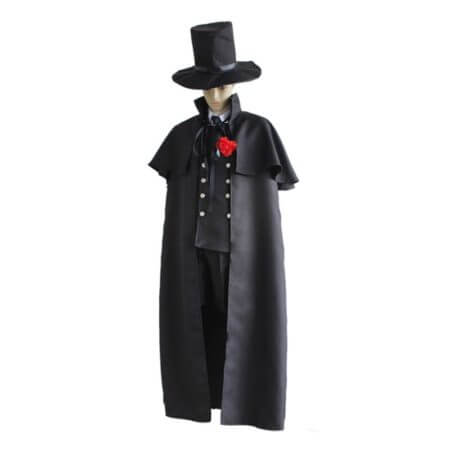 Black Butler 2 Kuroshitsuji Ciel Phantomhive Blue Boy Lolita Suit Anime Unisex Cosplay Costume Sets 4